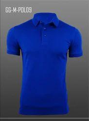 Men's Knitted Airtex Polo Shirt