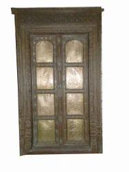 Vintage Brass Fitted Door Panel