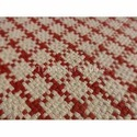 Handmade Cotton Checks Pattern Rug