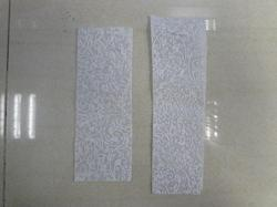 Flock Printed Chiffon Papers for Wedding Invites