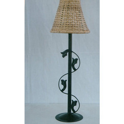 Wrought Iron Lamp  Shade
