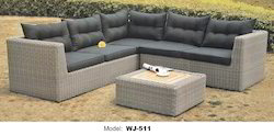 Wicker Garden Sofa Set