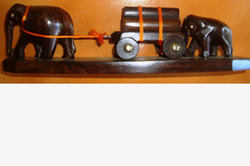 Animal+Statue+In+Rosewood+-+Elephant