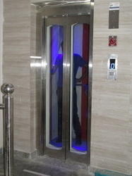 Glass Door Elevator