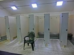 change room partition