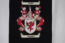 Drake/England Singe Crest Blazer Badge