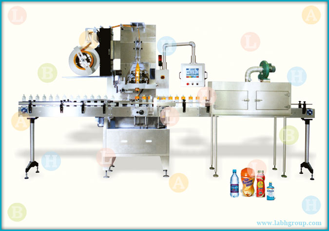 Automatic Shrink Label Applicator Machine