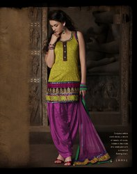 Purple Readymade Suit Collection Wear