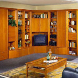 Wooden living room cabinet view specifications details for Cupboard designs for living room in india