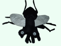 House Fly Hand Puppets