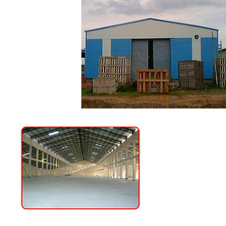 prefabricated storage shed for godown