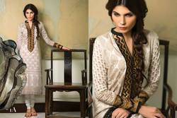 Printed Designer Embroidered Pakistani Suits