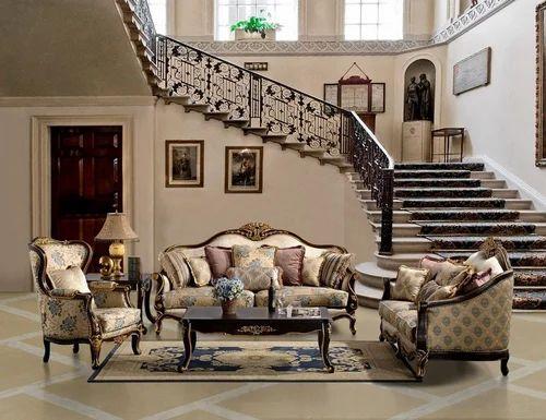Amazing Wooden Sofa Set
