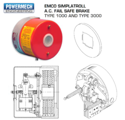 EMCO AC Fail Safe Brake