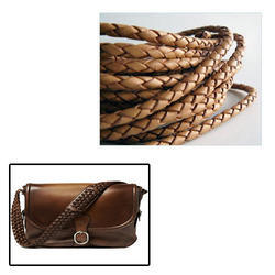 Braided Leather Cord for Bag