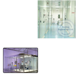 Modular Clean Room Panels for Laboratory