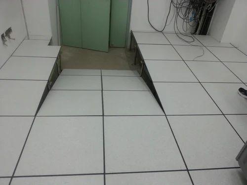 Server Room Floor Tiles : Raised flooring floor service provider from chennai