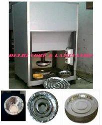Semi Automatic Single Die Paper Plate Making Machine