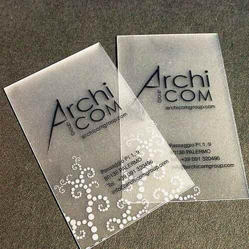 Business cards printing services translucent business card translucent business card printing colourmoves