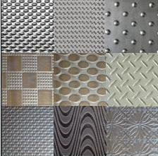 Stainless Steel Designer Embossed Etched Colored Sheets