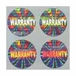 Warranty Hologram Seal
