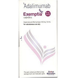 Exemptia ( Adalimumab 40mg Injection)