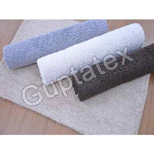 Reversible Cotton Bath Mats