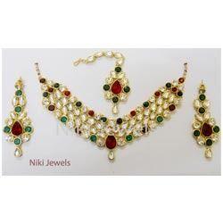 Designer Kundan Jewelry Sets