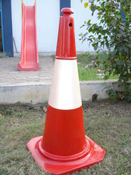 FRP Traffic Safety Cones -  for Road Divider
