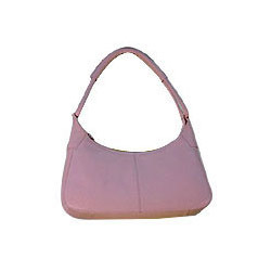 Designer Pink Leather Bag