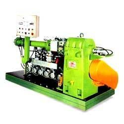 Hot & Cold Feed Rubber Extruder