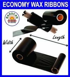 Barscan Economy Wax Thermal Transfer Ribbons