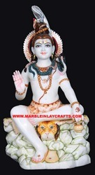 Lord Marble Shiv And Shankar Statue