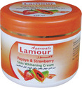 papaya and strawberry skin whitening cream