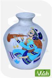 Vaah Blue Pottery Decorative Painted Vase