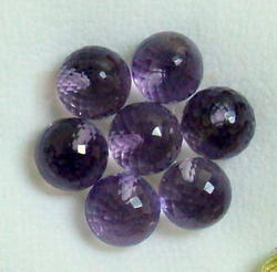 Amethyst Faceted Ball