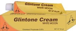 glintone white moon tube cream