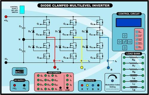 Advanced Power Electronics Trainers Three Phase Diode