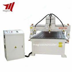 Three Heads CNC Engraver Machine