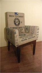 wooden recycled sofa