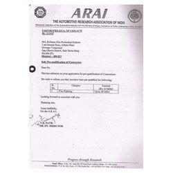 Registration Certificate - 5