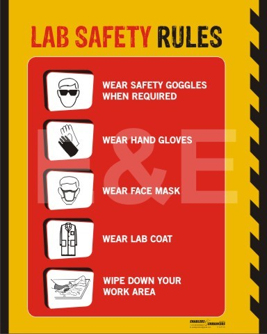 Lab Safety Poster Project