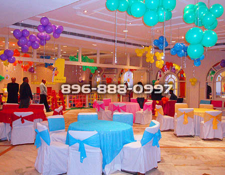 Kids Birthday Party Organizers 1st Birthday Decoration Service