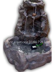 Fiberglass Stone Carving Waterfalls