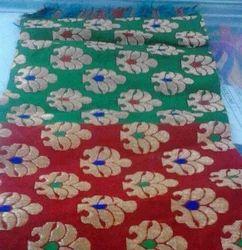 patchwork brocade fabric