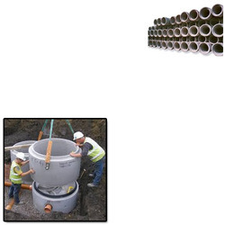 Cement Pipes for Construction Sites