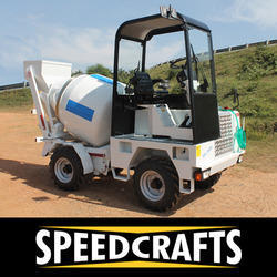 self loading concrete mixer ds 1000