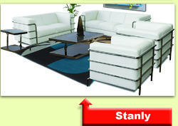 Stainless Steel Sofa Set 2 1 1 ( SS Stanley )