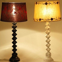 Classic Wooden Lamp