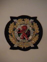 Londan Scottish Blazer Badge